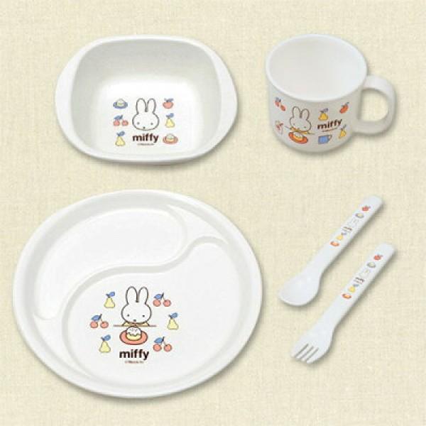 Miffy 餐具套裝 (5件裝)