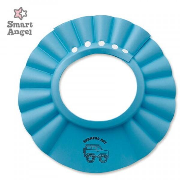 SmartAngel 幼兒洗髮帽 – 粉藍