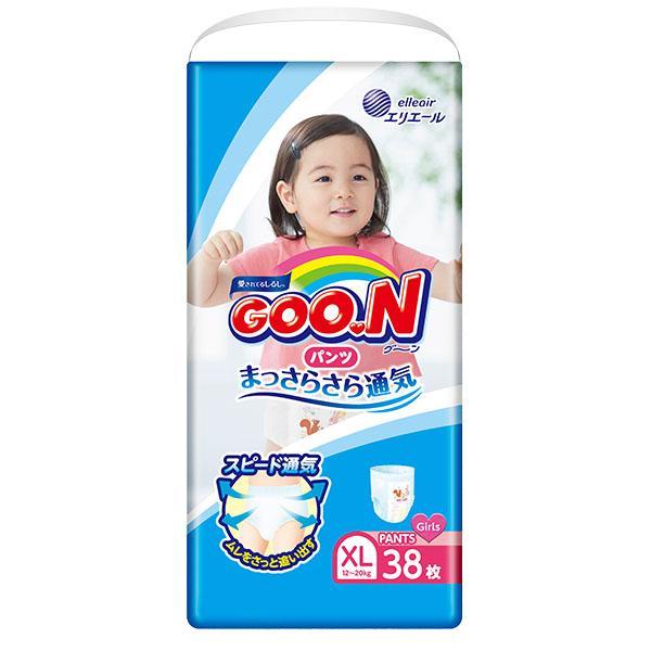 大王GOON 女裝活動學行褲 加大碼 (BIG) 38片(12~20kg)