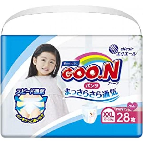 大王GOON 女裝活動學習褲  加加大碼 (XXL) 增量版 28片(13~25kg)