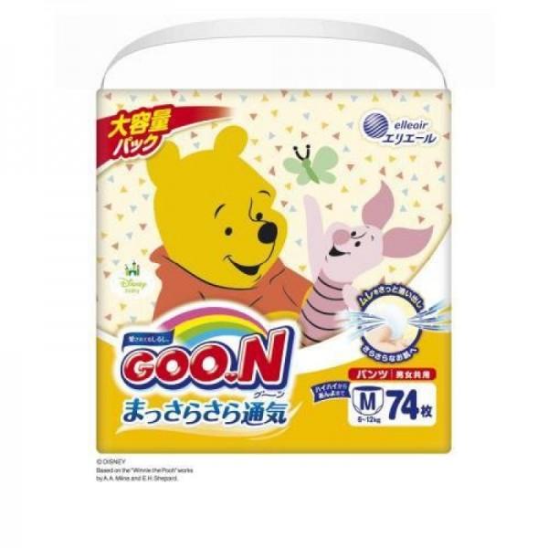 大王GOON x Disney 紙尿褲 中碼 (M) 74片(6~12kg)