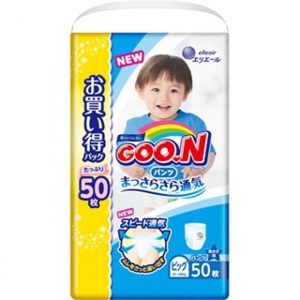 大王GOON 男裝活動學行褲 加大碼 (BIG) 50片(12~20kg)