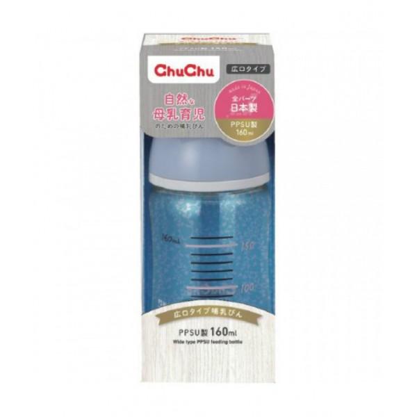 Chu Chu Baby PPSU奶瓶(闊身) 160ML