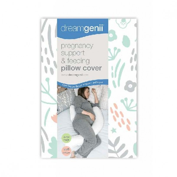 Dreamgenii 孕婦及哺乳枕 替換枕套- Coral