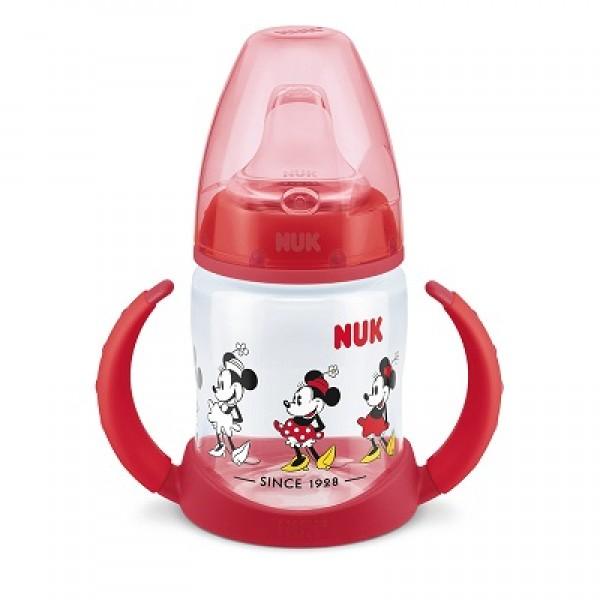 NUK 迪士尼兩用手柄學習杯 - 紅色
