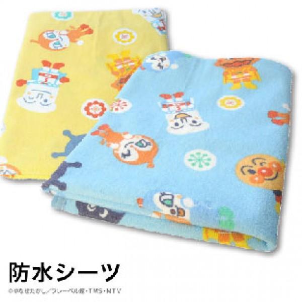 麵包超人隔尿墊 (70x120cm) 粉藍/黃