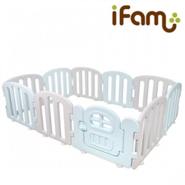 韓國 IFam First Baby 簡約風遊戲圍欄-藍灰色 [供應商直接送貨]