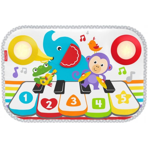 Fisher Price Smart Stages Kick & Play 鋼琴墊