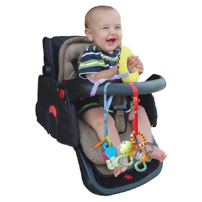 Baby Buddy Secure-A-Toy 玩貝防跌帶 2條裝 (橙色)