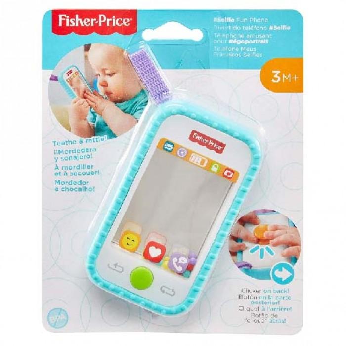 Fisher Price 電話型鏡子牙膠